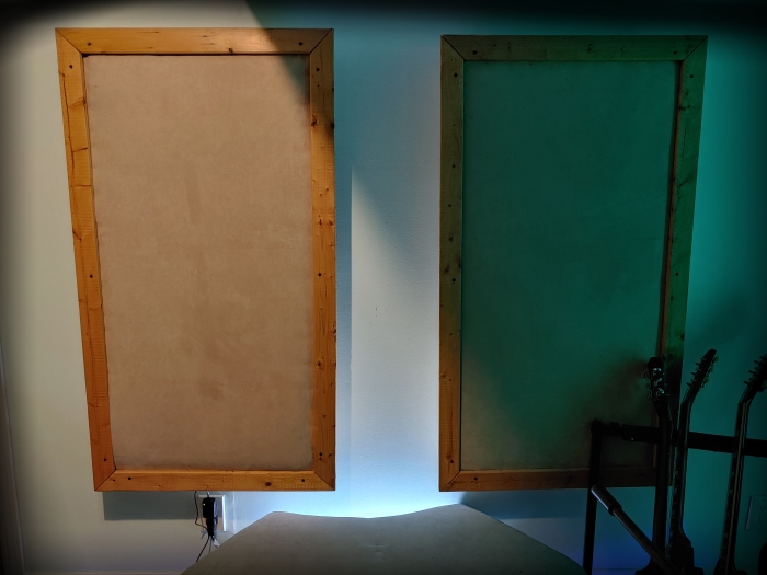 KRK DIY acoustic panels final 2